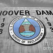 Hoover Logo  Art Print