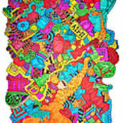 Hooya Art Print by Chelsea Geldean