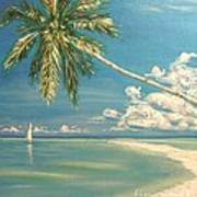 Hope Bay Art Print by The Beach  Dreamer