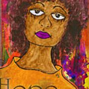 Hope For Tomorrow - Journal Art Art Print