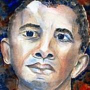 Hopeful - President-elect Art Print by Carlin Blahnik