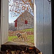 Hopewell Furnace And Pug 18 Art Print