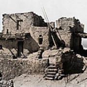 Hopi Hilltop Indian Dwelling 1920 Art Print