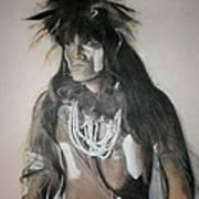 Hopi Snake Priest Art Print by Terri Ana Stokes
