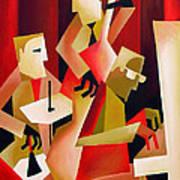 Horace Parlan Trio - Christiania - Copenhagen Art Print