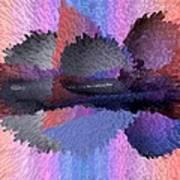 Horizontal Reflection Art Print