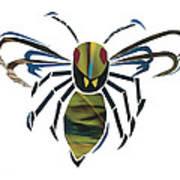 Hornet Art Print by Earl ContehMorgan