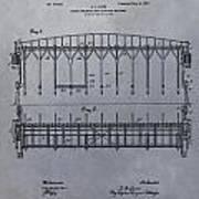 Horse Breaker Patent Art Print