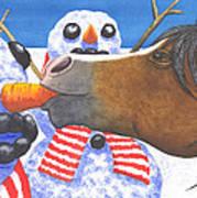 Horse Got Your Nose Art Print