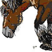 horse - Guus Art Print