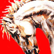 E   P   I   C   U   S    In Red Art Print