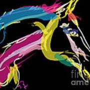Horse- Lovely Colours Art Print