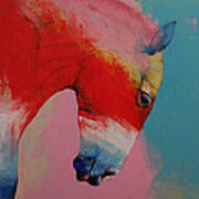 Horse Print by Michael Creese