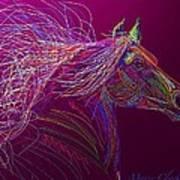 Horse Of Fire Art Print