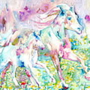 Horse Painting.17 Art Print