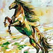 Horse Painting.25 Art Print