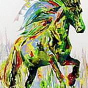 Horse Painting.26 Art Print
