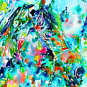 Horse Painting.30 Art Print