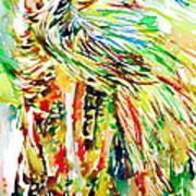 Horse Painting.31 Art Print