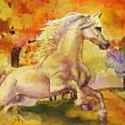 Horse Paintings 003 Art Print
