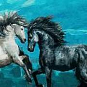 Horse Paintings 011 Art Print
