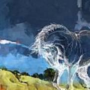 Horse Paintings 012 Art Print