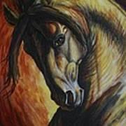 Horse Power Art Print by Silvana Gabudean Dobre