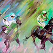Horse Racing 04 Art Print