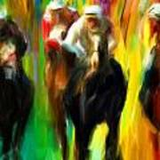 Horse Racing IIi Art Print