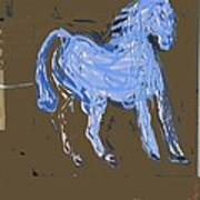 Horse Revisited Art Print by Jay Manne-Crusoe