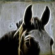 Horse Whispers Art Print