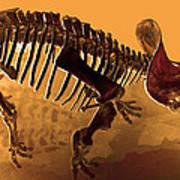 Hostile Fossil Art Print