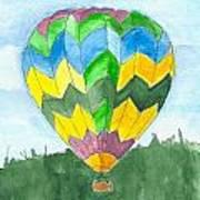 Hot Air Balloon 01 Art Print