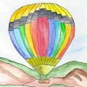 Hot Air Balloon 03 Art Print