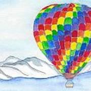 Hot Air Balloon 04 Art Print