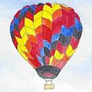 Hot Air Balloon 05 Art Print