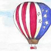 Hot Air Balloon 07 Art Print