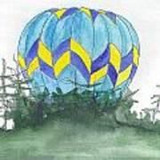 Hot Air Balloon 09 Art Print
