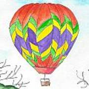 Hot Air Balloon 10 Art Print