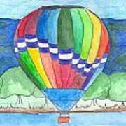 Hot Air Balloon 11 Art Print
