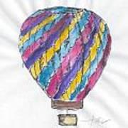Hot Air Balloon Misc 02 Art Print