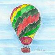 Hot Air Balloon Misc 03 Art Print