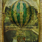 Hot Air Balloon Voyage Art Print