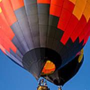 Hot Air Ballooning Art Print by Edward Fielding