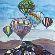 Hot Air Baloons Art Print