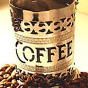Hot Coffee Art Print