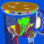 Hot Cup Art Print