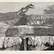 Hot Lakes Of New Zealand The Tattooed Basin Art Print