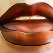 Hot Lips Art Print