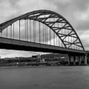 Hot Metal Bridge Art Print